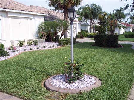 Complete landscape around house for Landscaping around house